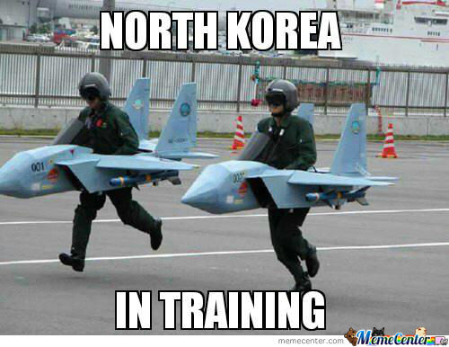 North Korea In Training