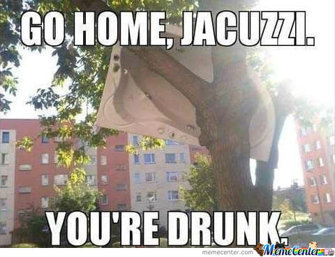 Not Again Jacuzzi...
