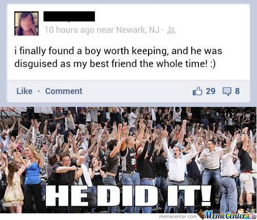 Not All Hope Is Lost Within The Friendzone..fight On