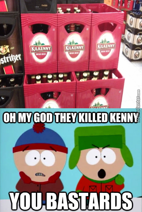 Not Kenny!