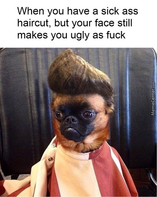 Not My Case Tho, My Haircut Sucks