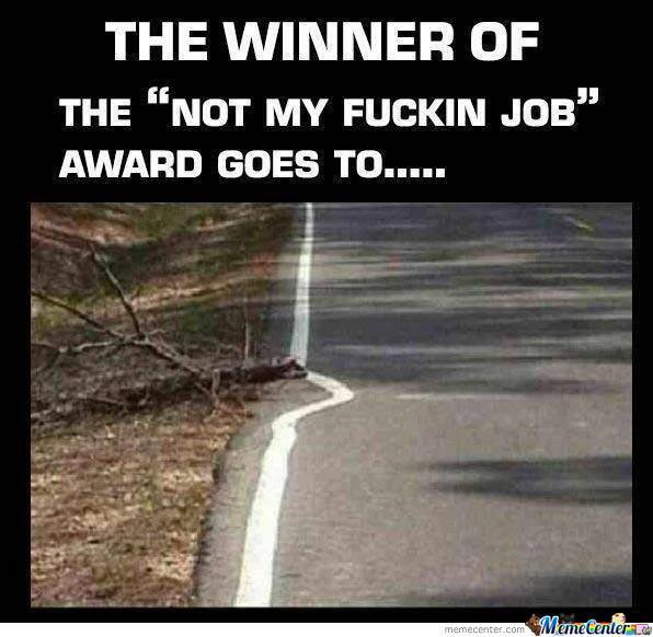 Not My F**king Job!