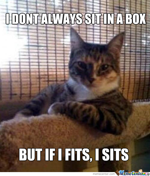 (Not Only In Boxes)