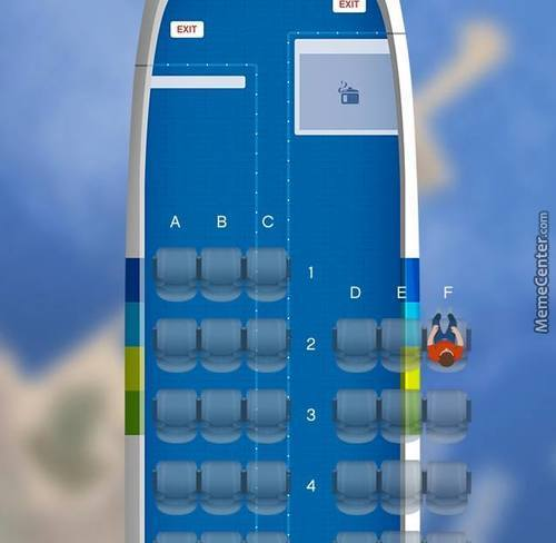 Not Sure I Like Those Seating Options... (F = Fucked)