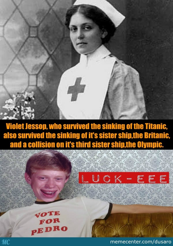 Not Sure If Bad Luck Or Good Luck