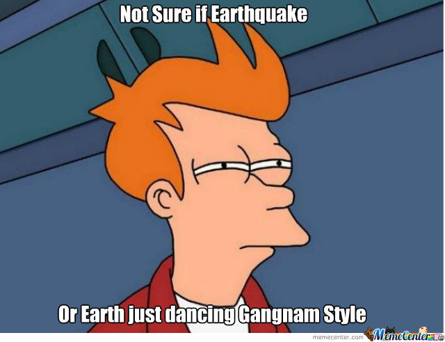 Not Sure If Earthquake........