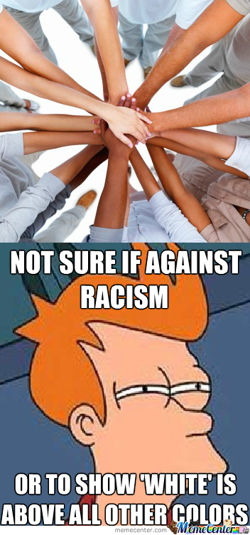 Not Sure If It's 'no' To Racism