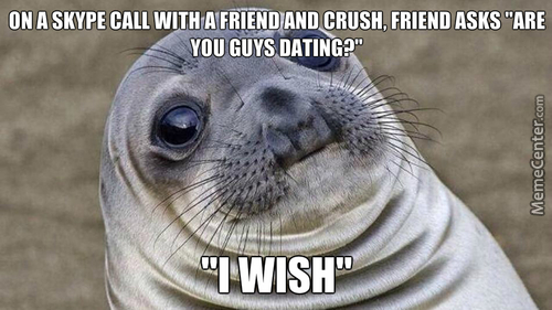 Not Sure If Smooth Or Awkward...