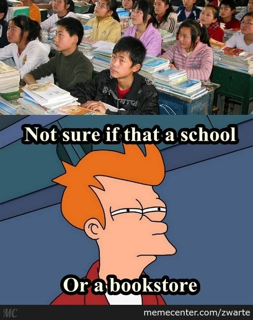 Not Sure If That A School Or A Bookstore