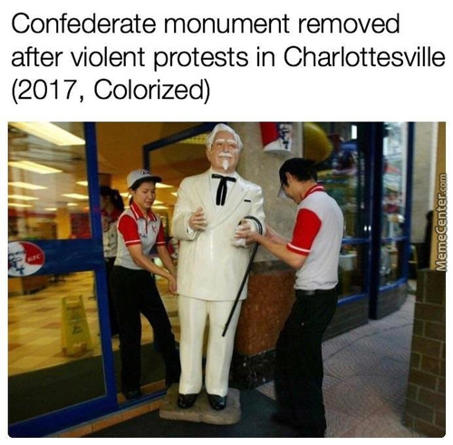 Not The Colonel!