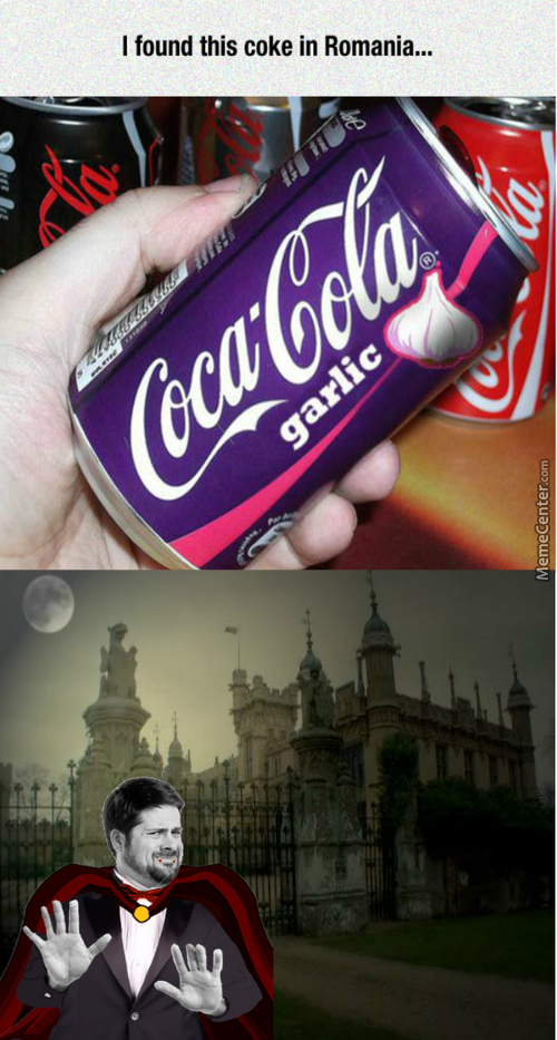 Not The Kind Of Drink To Offer To Vampires