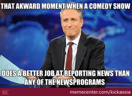 Not To Mention, Jon Stewart Is Funny, Clever And Actually Criticises Capitalism