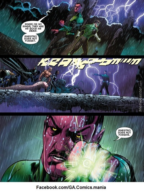 Not You Too Sinestro... Not You Too