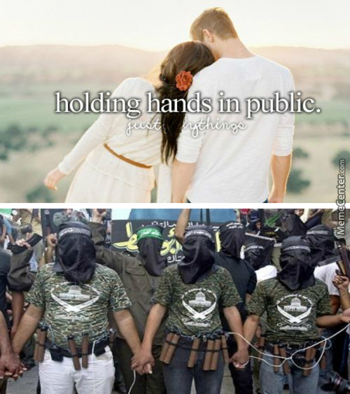 Nothing Wrong With Holding Hands