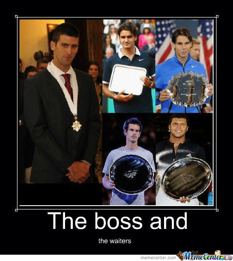 Novak Djokovic By Prodan Meme Center