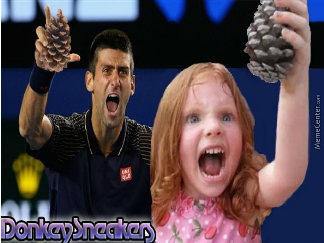 Novak Djokovic By Donkeysneakers Meme Center