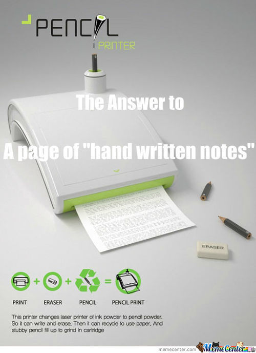Now I Can Type My Notes And My Teacher Will Never Know :d