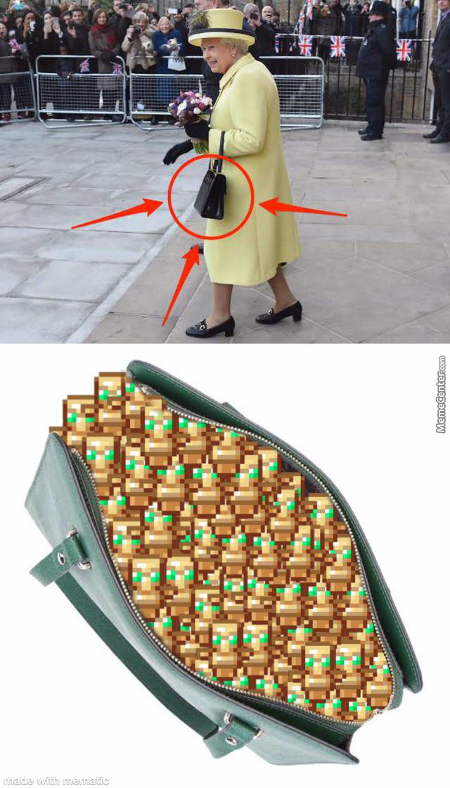 Now It Makes Sense Why She Always Carries The Handbag