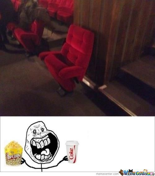 Now That's My Kind Of Seat