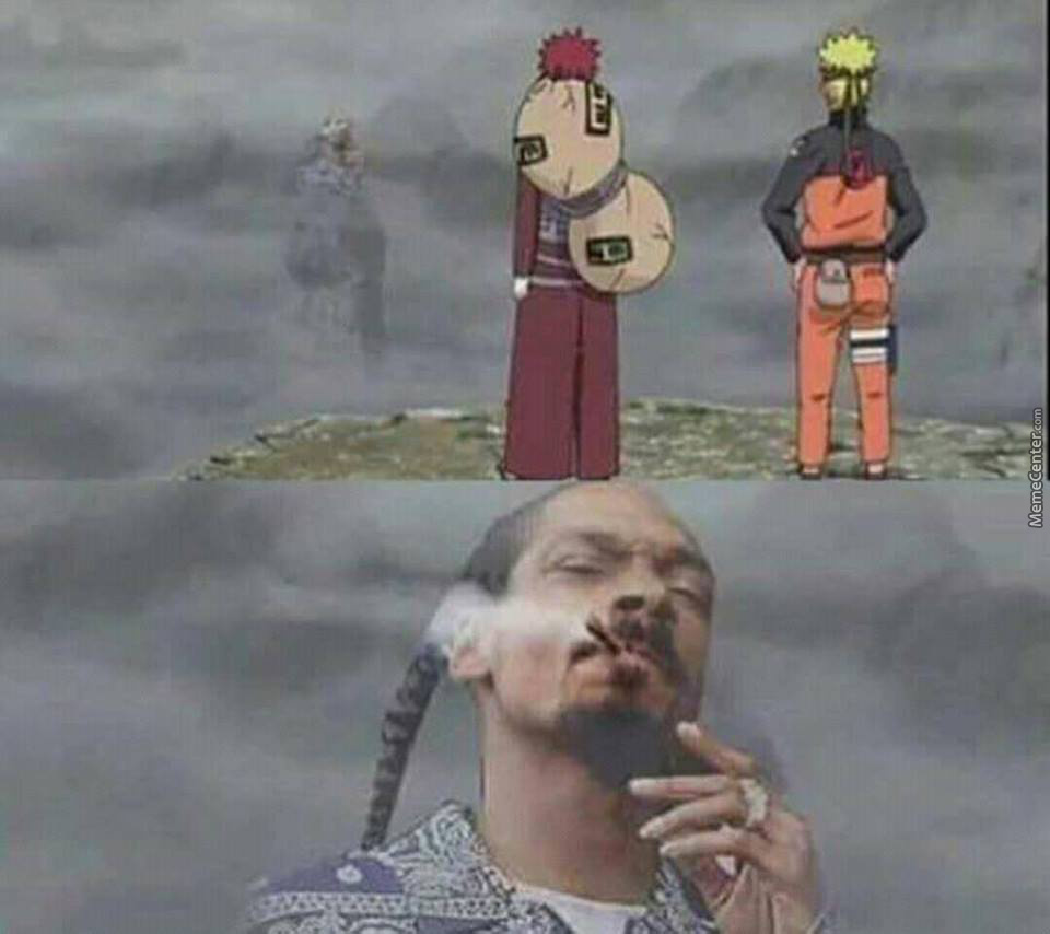 Now We Need A Remake With Snoop As Hokage