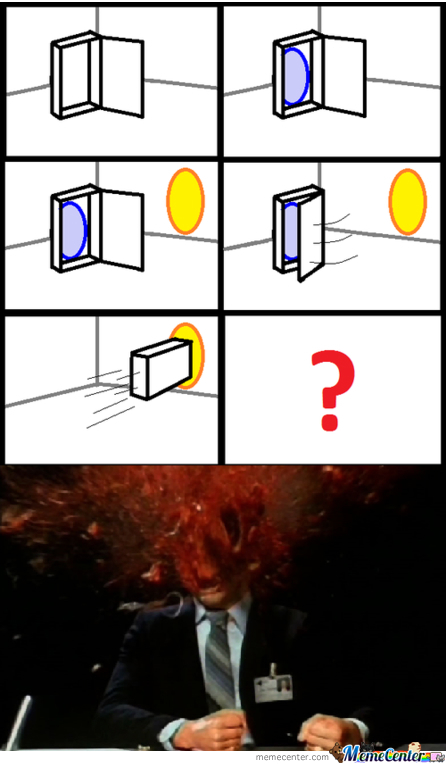 Now You're Over-Thinking With Portals!