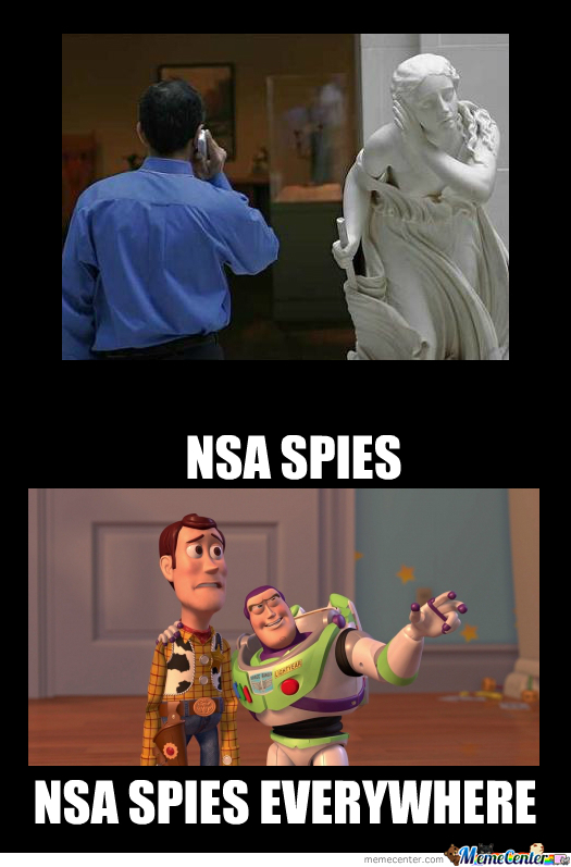 Nsa Is Watching You