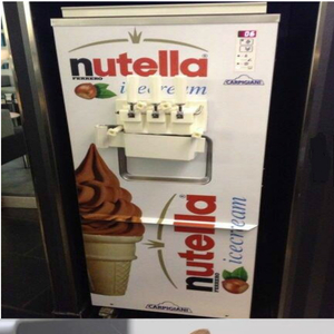 Nutella Ice Cream Machine By Firasnatsheh1