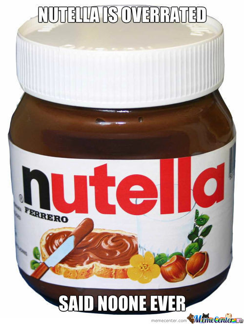 Nutella Is Overrated