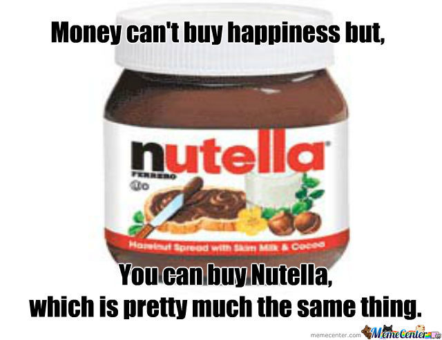 Nutella Mmm By Recyclebin Meme Center
