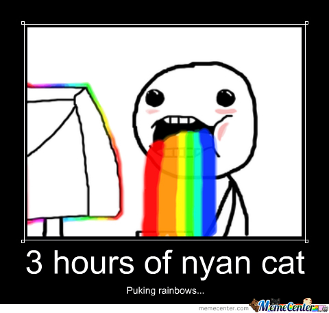 nyan cat_o_1580419 nyan cat by xxbellexx meme center