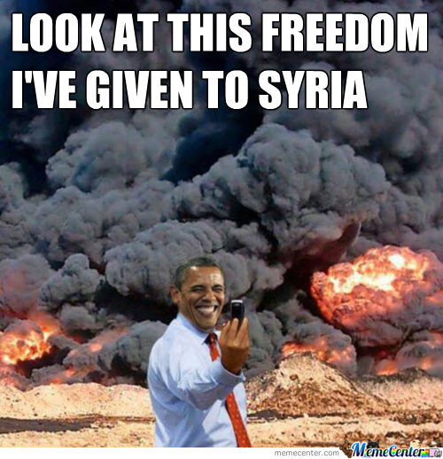 obama and syria_o_2137295 obama and syria! by greentree meme center