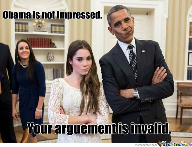 Obama Is Not Impressed