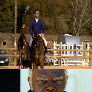 Obama On A Horse By Ben Meme Center