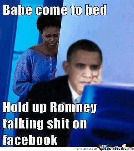Obama Vs Romney On Fb