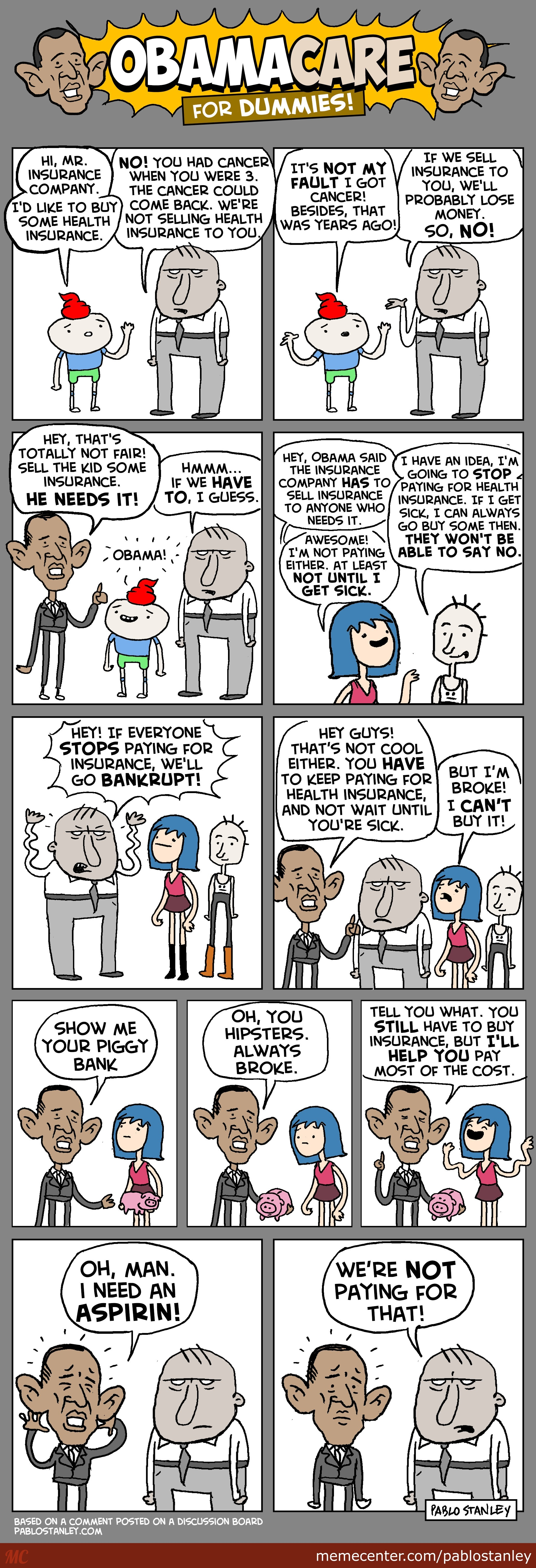 Obamacare For Dummies
