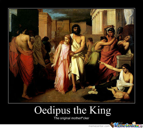 an analysis of the topic of the fate of oedipus the king a play by sophocles Need help on themes in sophocles's oedipus oedipus rex themes from litcharts actually took place long before the play begins king laius has been.