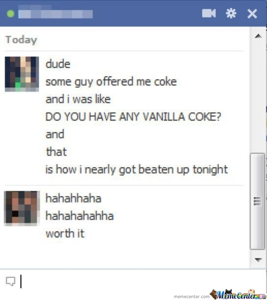 Offered A Coke