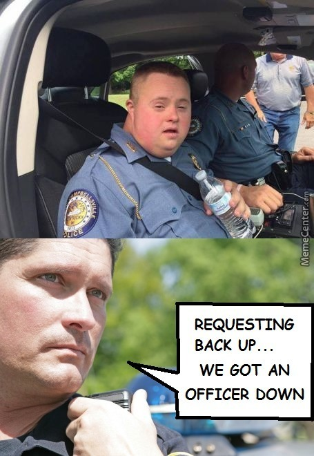 Officer Down, I Repeat, Officer Down! (Grabs Ticket To Hell)