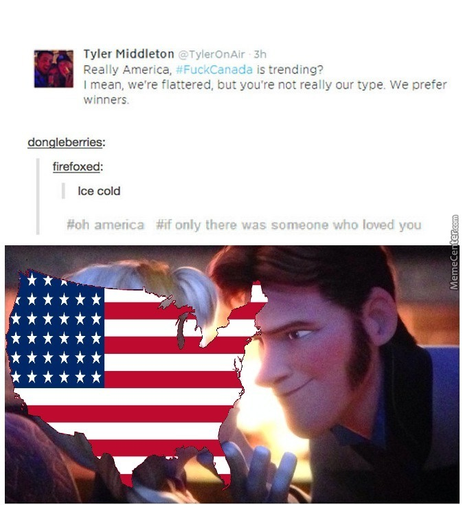 Oh America If Only Someone Loved You By Emperorkyleuesi Meme Center