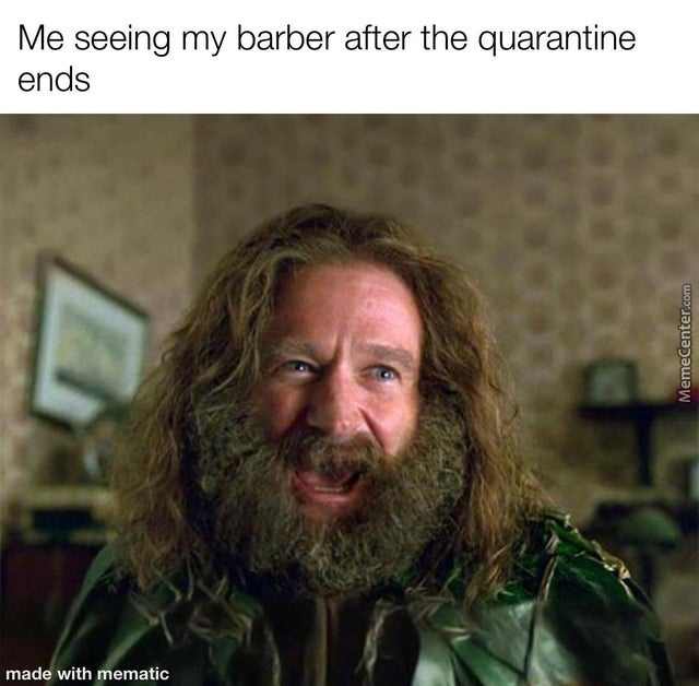 Oh Barbers Will Be Doomed