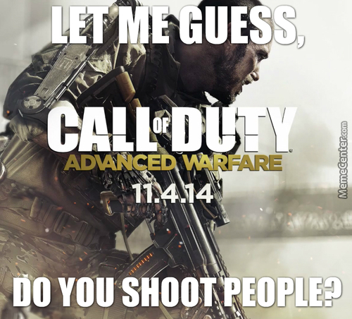 Oh Boy, A New Call Of Duty Game! Did Anyone Expect That?