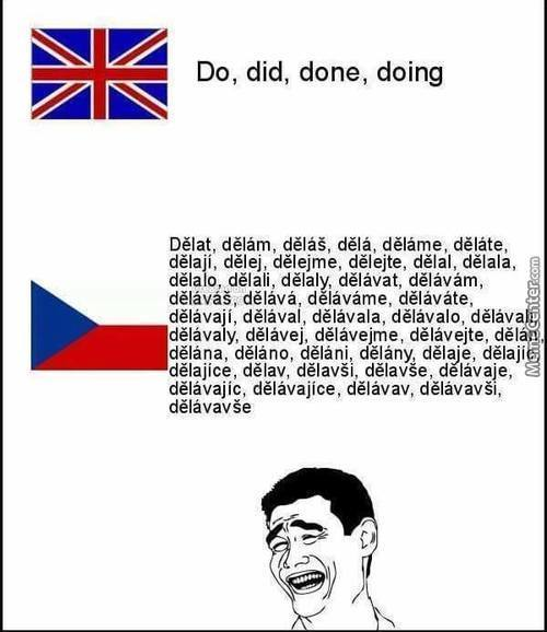 Oh Czech Language. You So Silly.