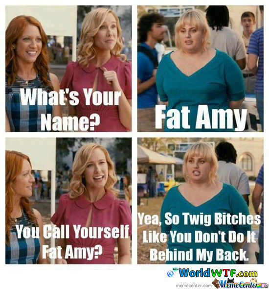 Oh Fat Amy...