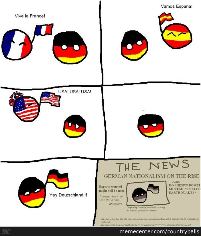 Oh Germany By Countryballs Meme Center