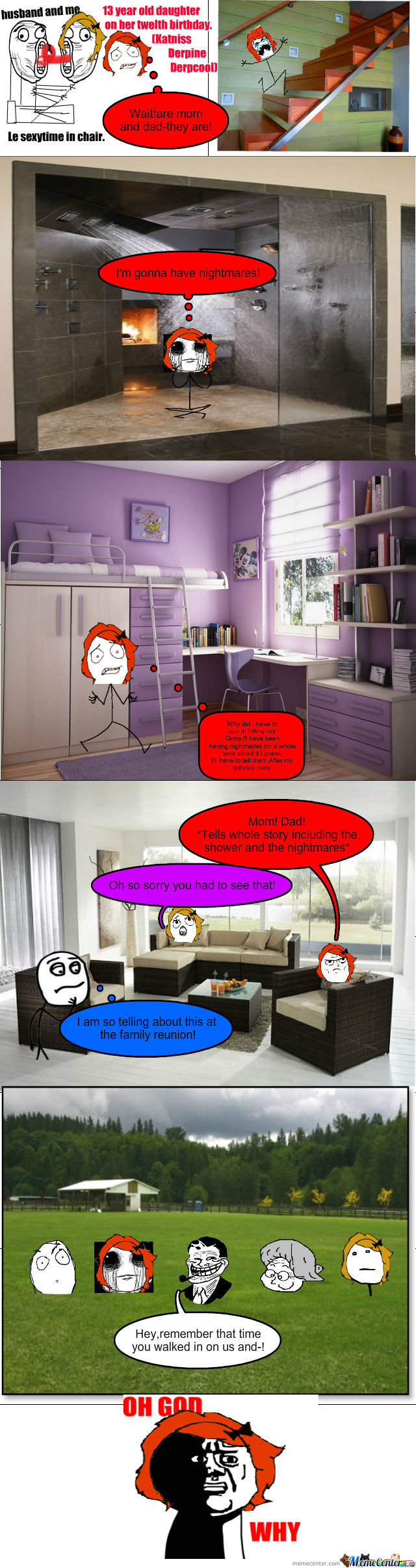 Oh God Why-Walking In On Parents