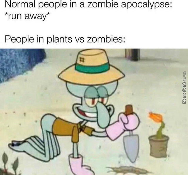 """""""Oh Look!...A Zombie...thats Nice"""""""
