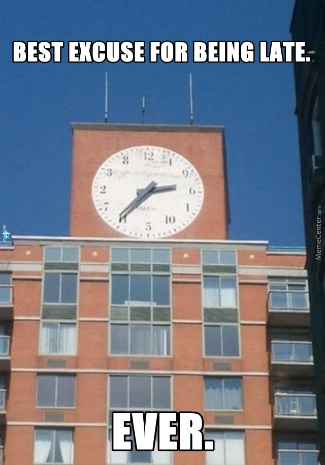 Oh, Look At The Time! ( I Demand One In My City, Btw)