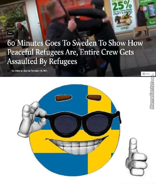 Oh My, Captain Sweden Is Proud.