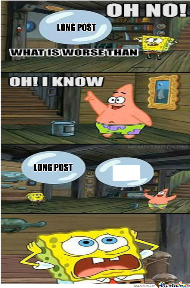 Oh No Long Post And White Space
