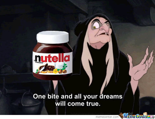 Oh Nutella
